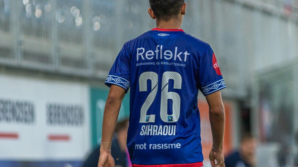 Sahraoui tilbake fra start