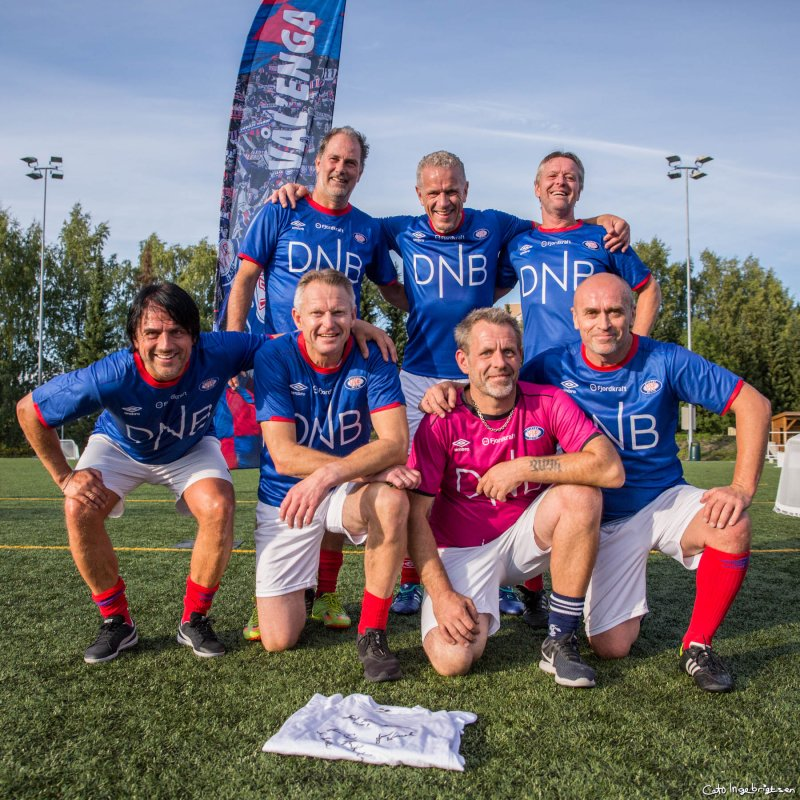 EX-VIF: Vålerenga-legender er med på Engaland-besøkene.
