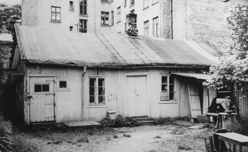 Kassesnekkeriet hvor Vålerengens Idrettsforening ble stifta