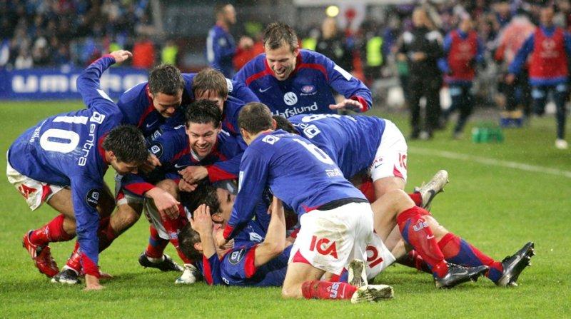Jubel i cupfinalen 2008