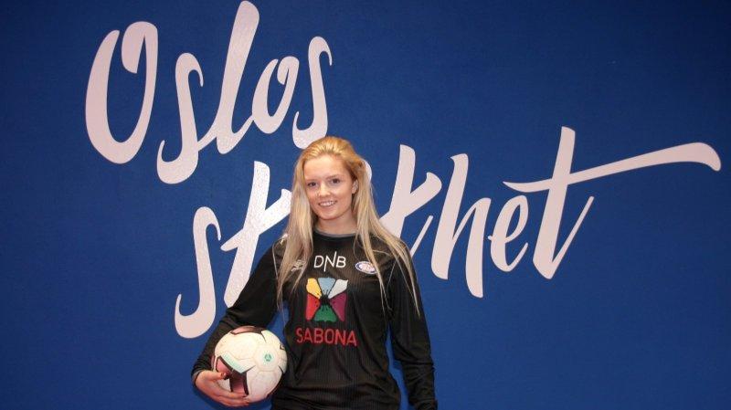 Vålerenga-keeper Guro Pettersen håper mange benytter seg av det utrolige tilbudet (Foto: VIF Media)