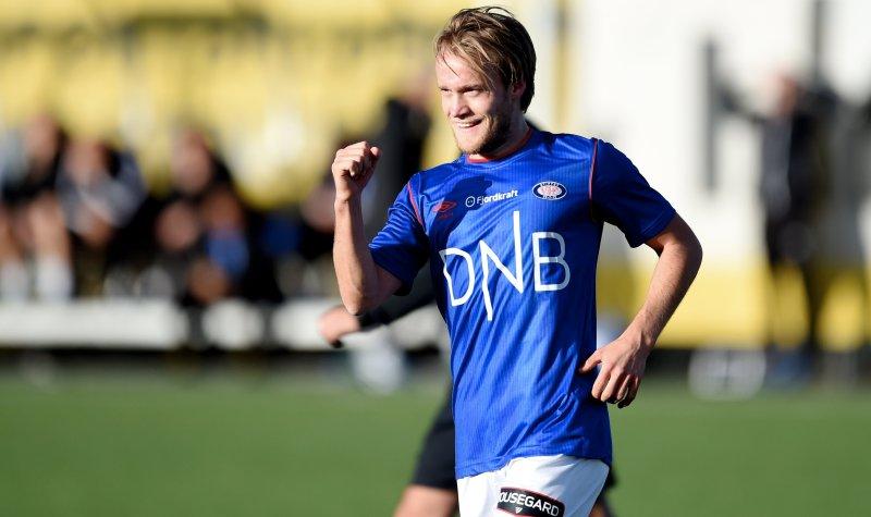 Bård Finne satte inn Vålerengas eneste mål i 5-1-tapet mot Molde. (Foto: NTB Scanpix)