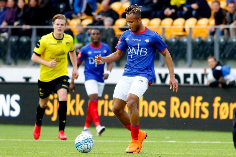Chidera Ejuke gjorde som han ville på Sør Arena lørdag kveld (Foto: Tor Erik Schrøder / NTB scanpix)