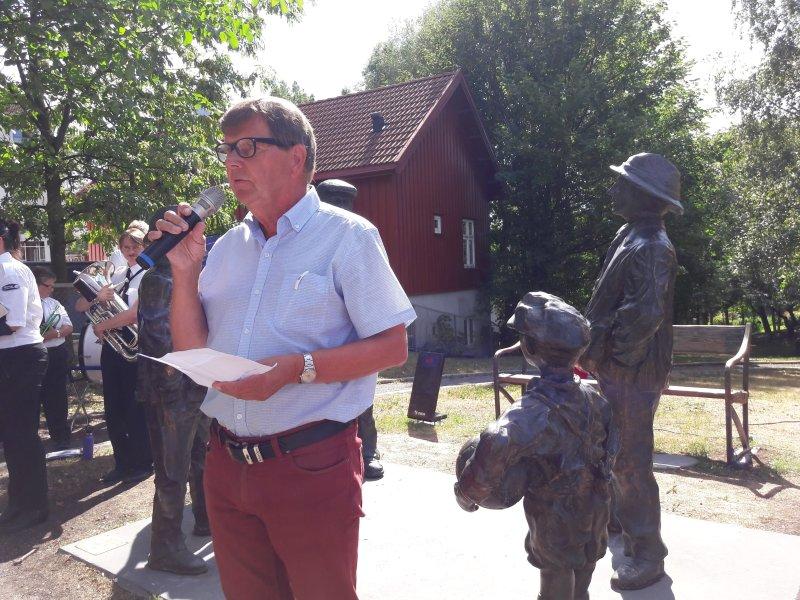 Leder for Vålerengens Idrettsforening, Svein Larsen (foto: Jarle Teigøy)