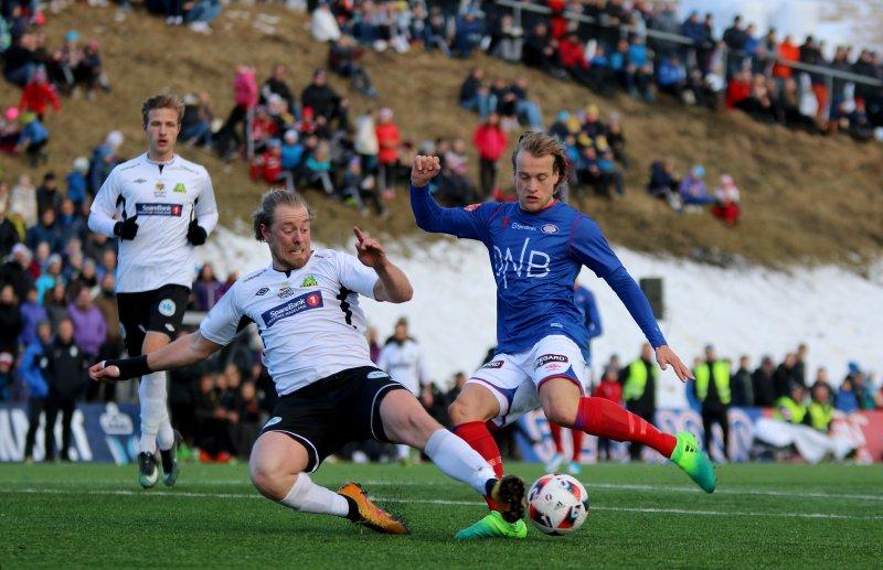 Bård Finne scora ett i 8-0-seieren over Gran (Foto: Thomas Brekke Sæteren)