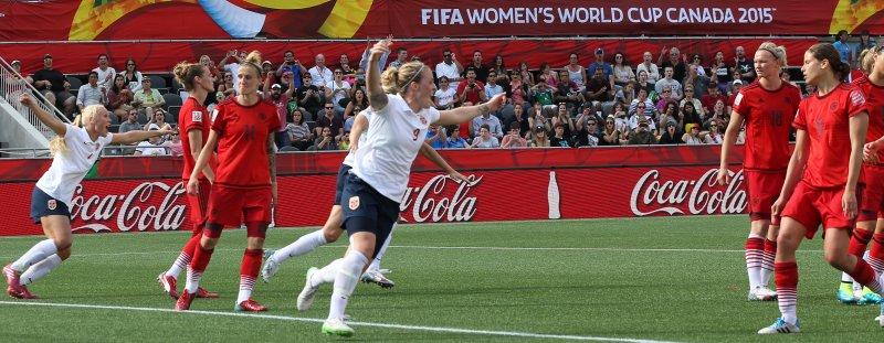 Isabell Herlovsen har 113 kamper og 50 mål for det norske landslaget (Foto: Berit Roald / NTB scanpix)