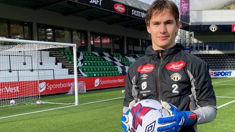 Jørgen Johnsen fortsetter karrieren i Sogndal (Foto: Sogndal Fotball)