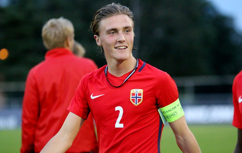 Christian Borchgrevink er klar for nye landskamper med flagget på brystet (Foto: Thomas Brekke Sæteren)