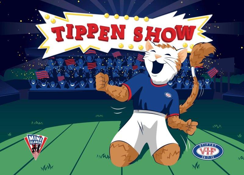 Tippenshowet kommer - perfekt for barn opp til 10 år!