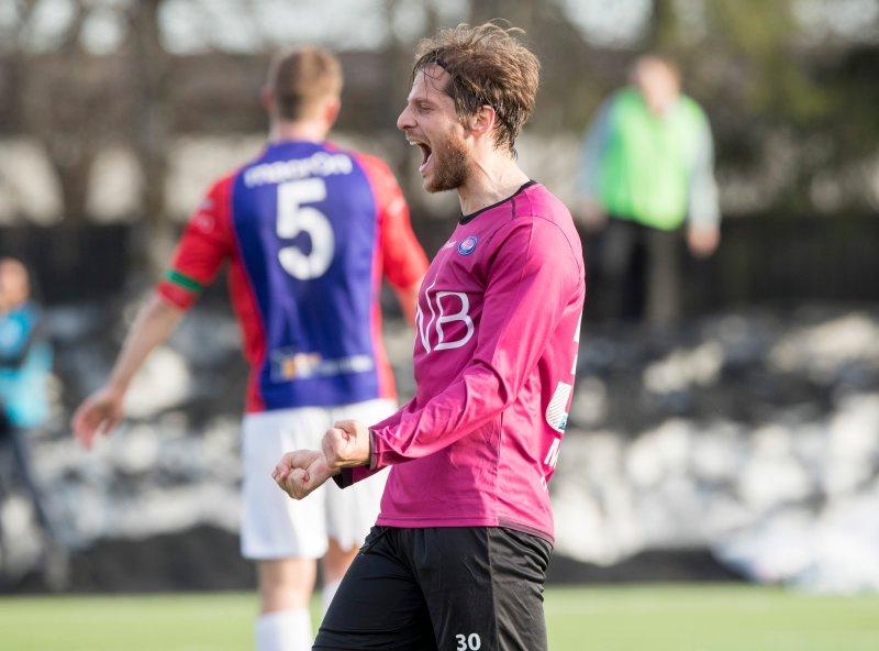 João Meira jubler for scoring i cupen. Portugiseren fikk fire kamper for A-laget i perioden han var i klubben (Foto: Terje Pedersen / NTB scanpix)