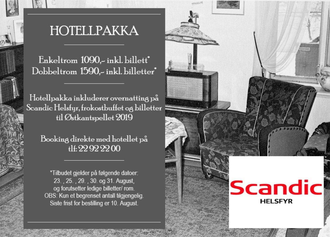 Hotellpakke Scandic Østkantspellet