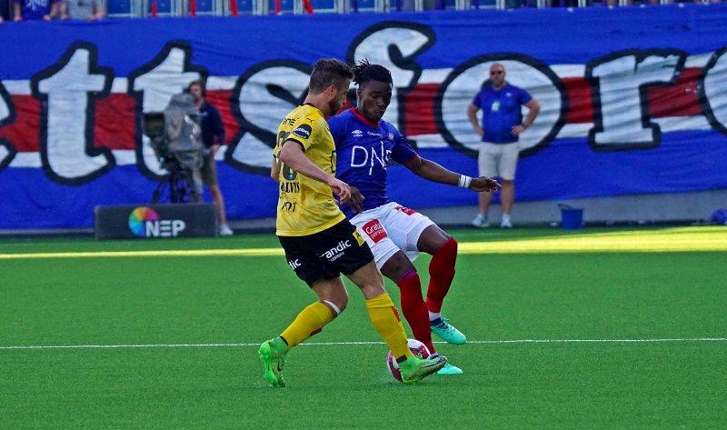 Adekugbe er klar for nye jubelscener mot Lillestrøm i 2019 (Foto: NTB Scanpix)