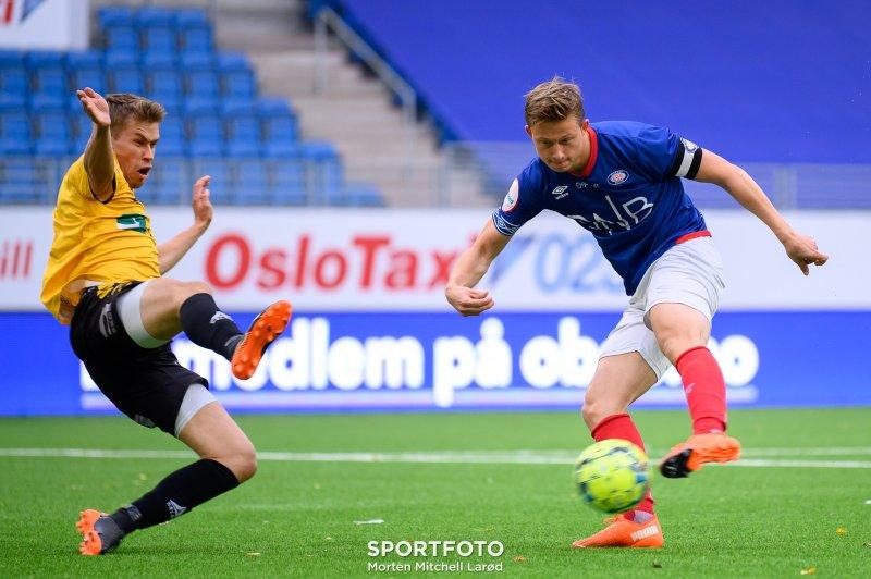 Øystein Sanden skal trene Vålerenga 2 i PostNord-ligaen i 2021, hvor Brage Skaret var kaptein i fjor (Foto: Morten M. Larød)