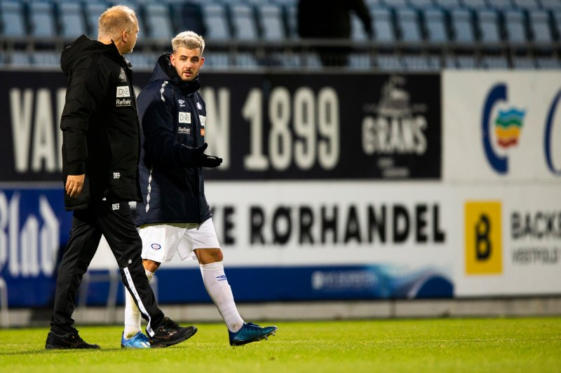 Fagermo og Dønnum etter en seier i 2020 (Foto: Trond Reidar Teigen / NTB)