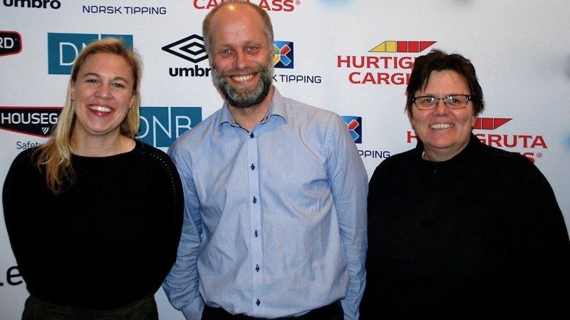 Elitestyret 2017 - Fra venstre: Hanna Skjebstad Weigård, Thomas Baardseng, Eli Landsem
