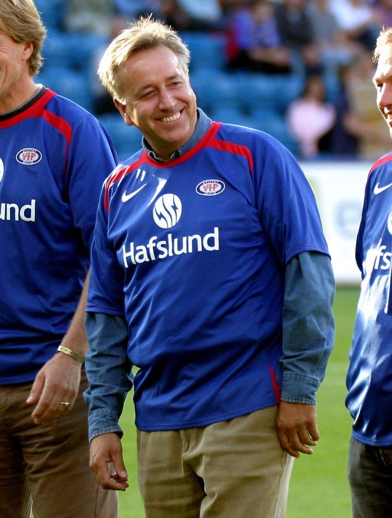 Vidar Davidsen var endel av laget som tok gull i 1981