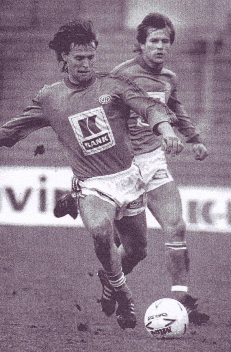 """Egil """"Snapper`n"""" Johansen i aksjon på 80-tallet"""