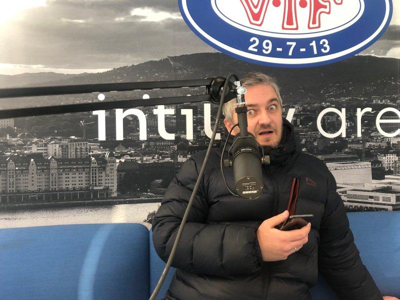 Aleksander Schau er meget fornøyd med Vålerengas nyeste signering (Foto: Pod-redaksjonen)